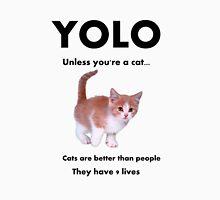 Cats have 9 lives Unisex T-Shirt
