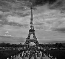 Eiffel Nights  by Ladedadeda