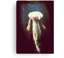 Vintage Bride Canvas Print