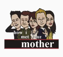 how i met your mother #4 by dmallh1417