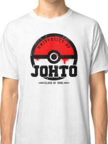Pokemon - University of Johto (Grunge) Classic T-Shirt