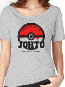 Pokemon - University of Johto (Grunge) Women's Relaxed Fit T-Shirt
