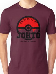 Pokemon - University of Johto (Grunge) Unisex T-Shirt