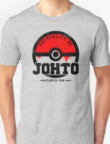 Pokemon - University of Johto (Grunge) Unisex T-Shirt