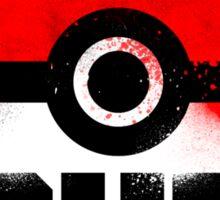 Pokemon - University of Johto (Grunge) Sticker