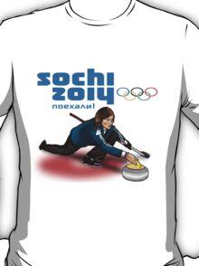 Curling - Sochi 2014 T-Shirt