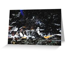 A Winters Arctic Storm Greeting Card