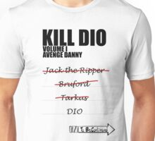 KILL DIO (Black) Unisex T-Shirt