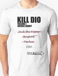KILL DIO (Black) T-Shirt