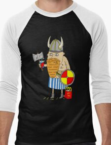 Fast Food Viking Men's Baseball ¾ T-Shirt