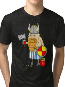 Fast Food Viking Tri-blend T-Shirt