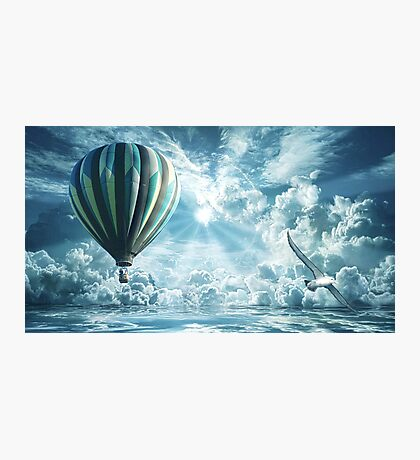 Float Away Photographic Print