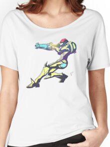 Samus Aran Color V2 Women's Relaxed Fit T-Shirt