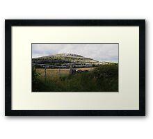 The Burren in West Clare Ireland Framed Print