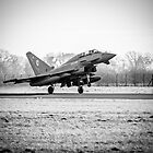 RAF Typhoon by Simon Hills