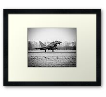RAF Typhoon Framed Print