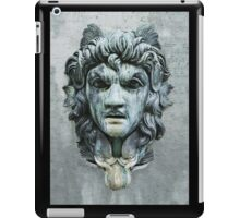 Carved face iPad Case/Skin