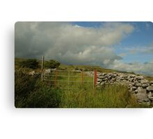 Gateway to The Burren County Clare Ireland Canvas Print