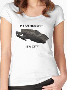 Stargate Atlantis - Atlantis Women's Fitted Scoop T-Shirt