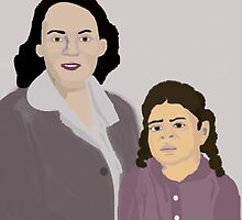 She and Her Mother by PharrisArt