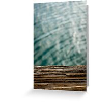 Harbor Wood Greeting Card