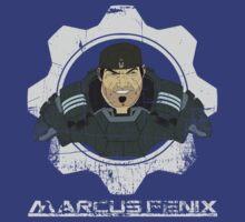 Gears of  War Marcus Fenix by iiincomiing