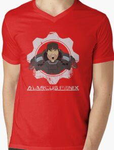 Gears of  War Marcus Fenix Mens V-Neck T-Shirt