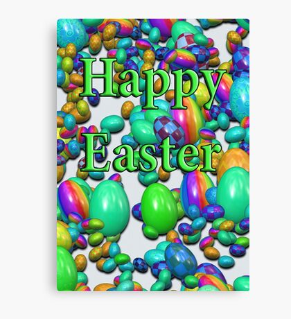 Happy Easter2 Canvas Print