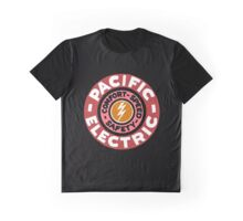 Pacific Electric Vintage - Colorized Graphic T-Shirt