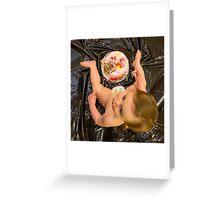Smash Cake Greeting Card