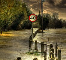 Yalding Floods  by larry flewers