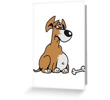 Thicker Dog Greeting Card