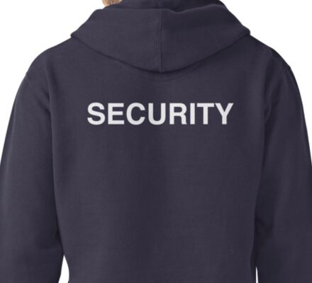 """Security"" Pullover Hoodie"