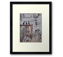 Black Plague Framed Print