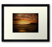 Winter Wetlands Framed Print