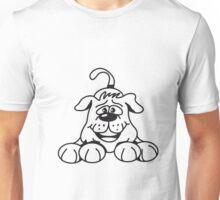 playful dog Unisex T-Shirt