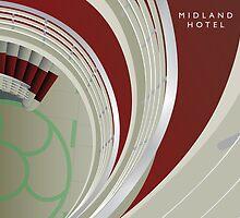 Midland Hotel, Morecambe - Interior by exvista