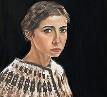 Self-portrait by nuala herron