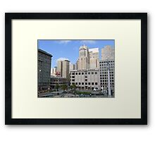Union Square , San Francisco  Framed Print