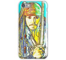 Johnny Depp in Pirates of the Caribbean iPhone Case/Skin