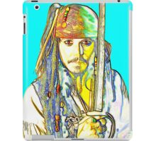 Johnny Depp in Pirates of the Caribbean iPad Case/Skin