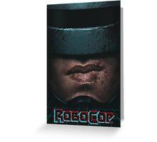 ROBOCOP Greeting Card