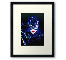 Michelle Pfeiffer in Batman Returns Framed Print