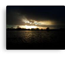 Dark Tides Canvas Print