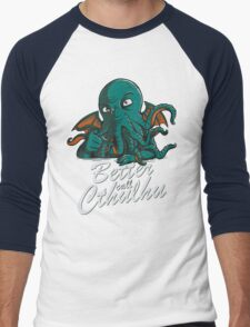 Better Call Cthulhu Men's Baseball ¾ T-Shirt