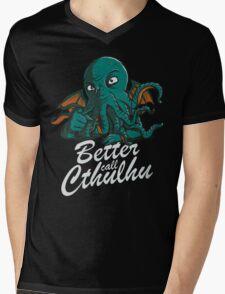 Better Call Cthulhu Mens V-Neck T-Shirt