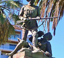 South African War Memorial  by lezvee
