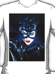 Michelle Pfeiffer in Batman Returns T-Shirt