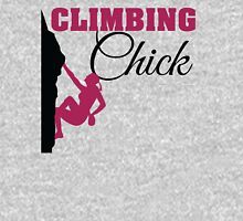 Climbing Chick Womens Fitted T-Shirt