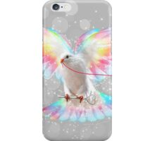 The Key is to Believe in the Impossible (Neon Wings Series III) iPhone Case/Skin